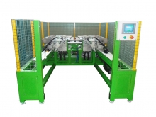 MPE - Automatic machine for producing the rear profile of a stepladder