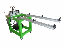 RCT - Semi-automatic machine for riveting clamps